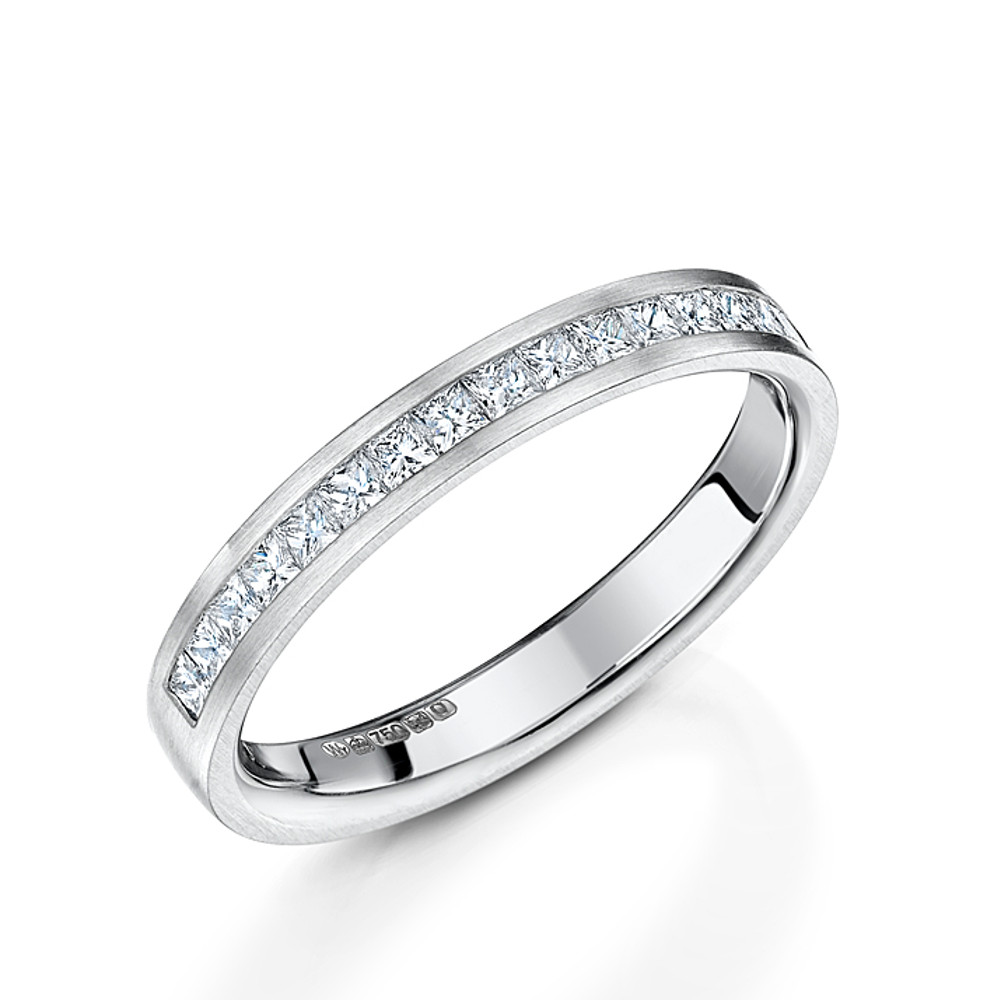 the band gem bands products scalloped diamond eternity wedding classic
