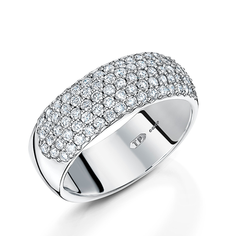 Wide Eternity Ring - WHY Jewellers